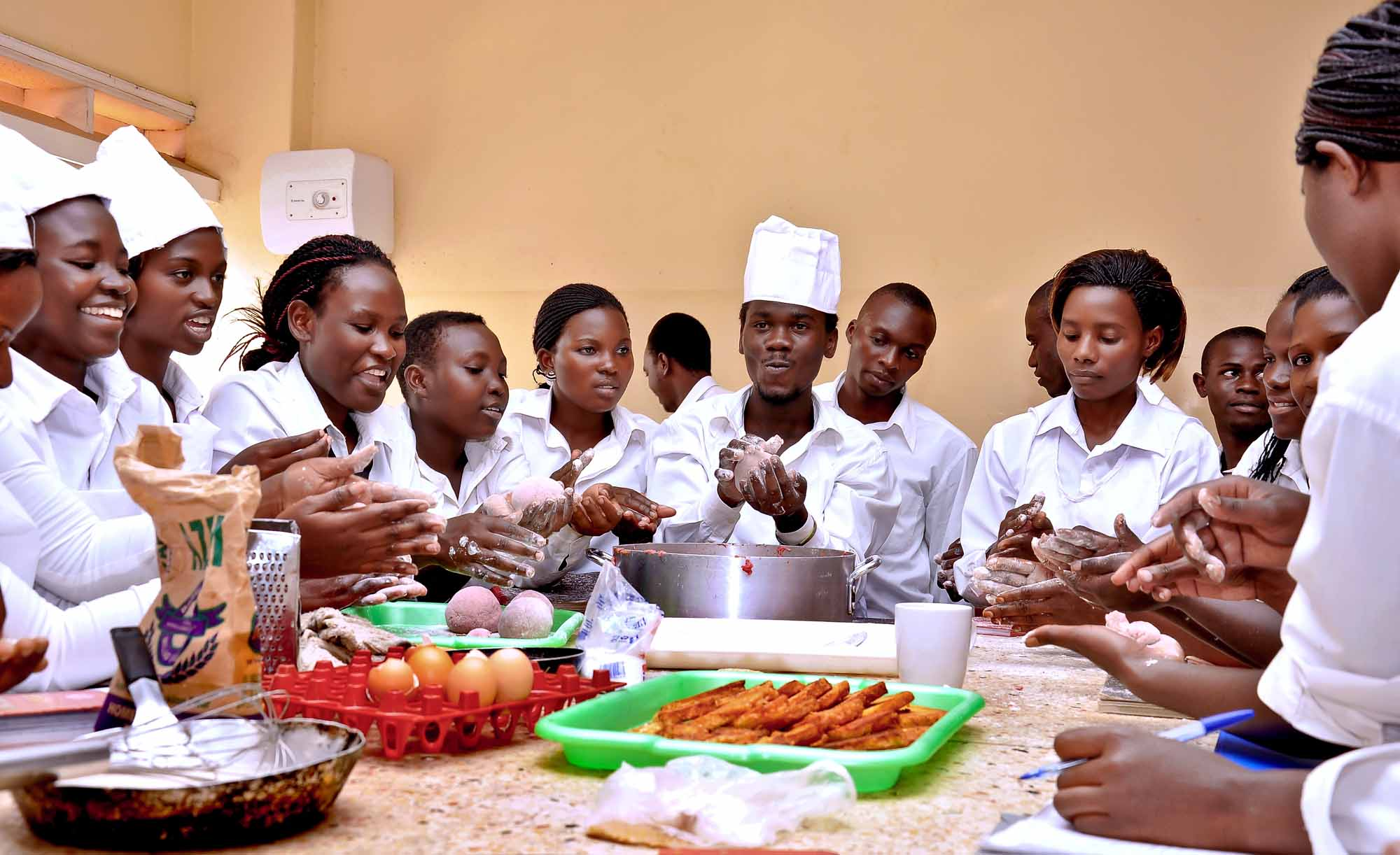 Hotel & Institutional Catering - Baking Session