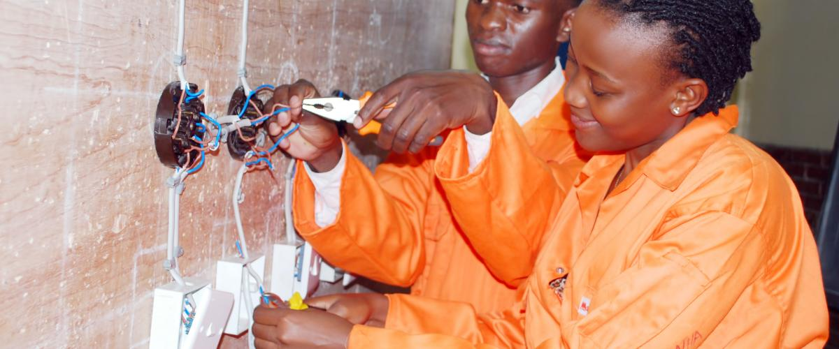 Electrical Engineering practical session