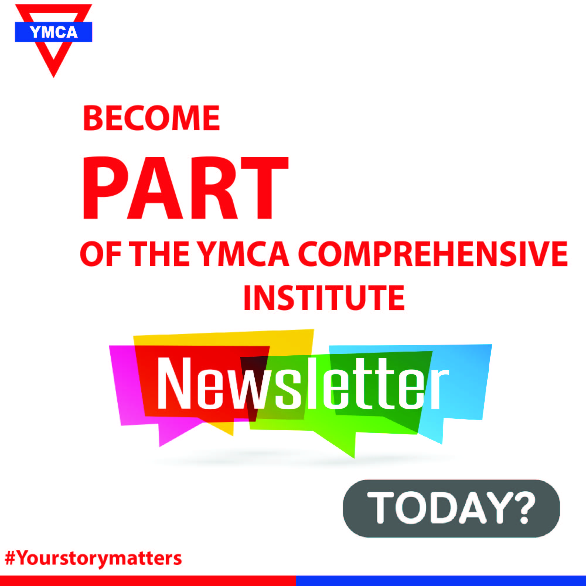 CALL FOR CONTRIBUTIONS TO YMCA QUARTER 1 NEWSLETTER