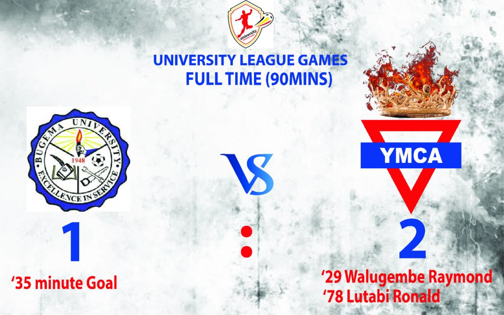 UNIVERSITY FOOTBALL LEAGUE: YMCA humbles Bugema University