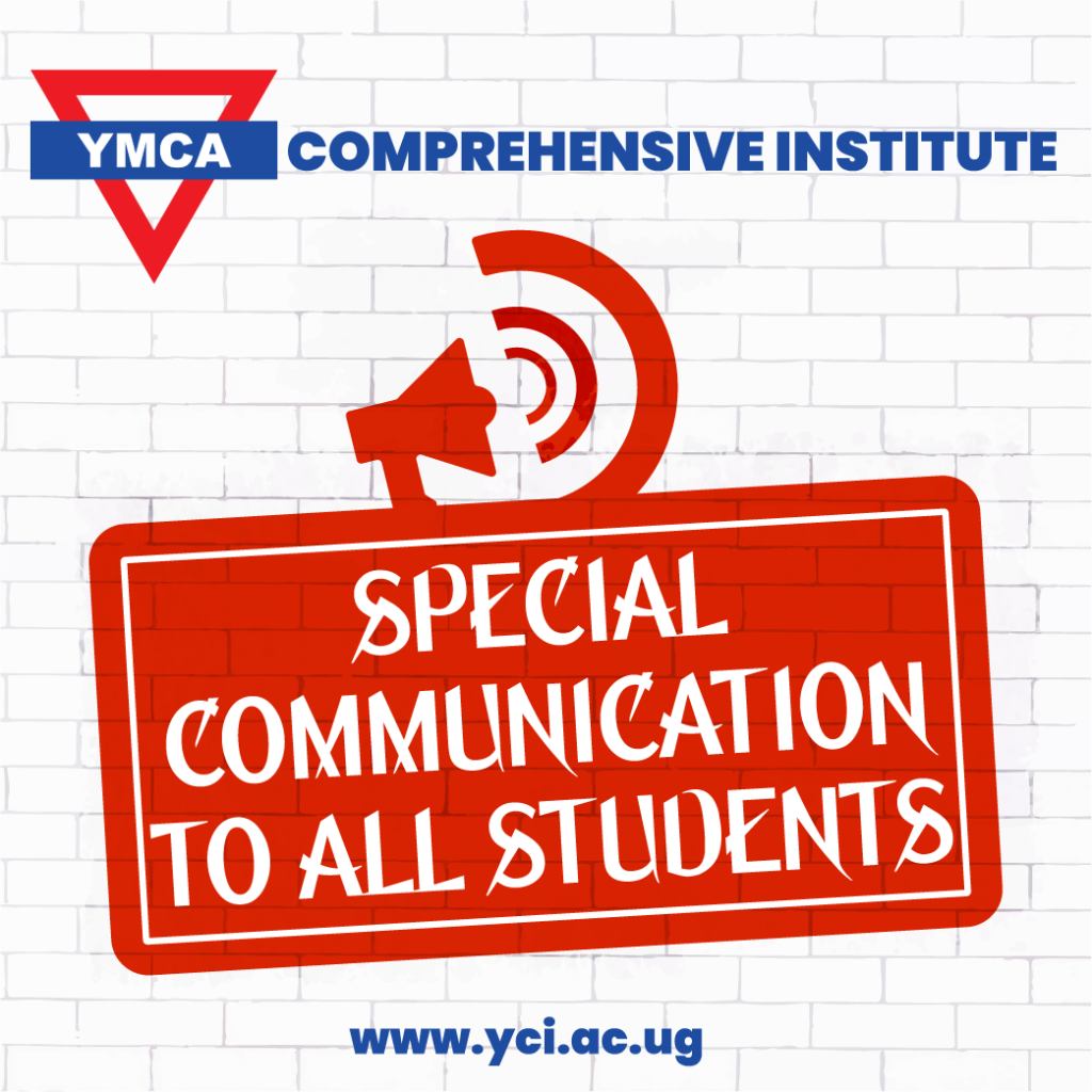 SPECIAL COMMUNICATION TO STUDENTS BEFORE SITTING FOR EXAMS (MONDAY 19TH, OCTOBER 2020-SATURDAY 24TH, OCTOBER 2020)